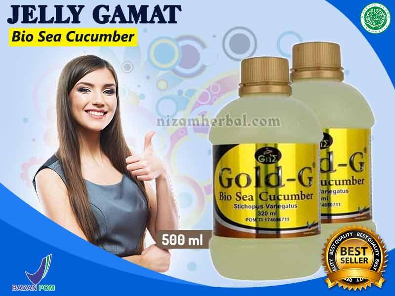 Manfaat Herbal Jelly Gamat Gold G Dan Kandungannya