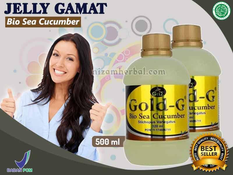 Review Jelly Gamat Gold G Dan Manfaatnya