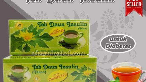 Jual Teh Daun Insulin Untuk Diabetes di Manggarai