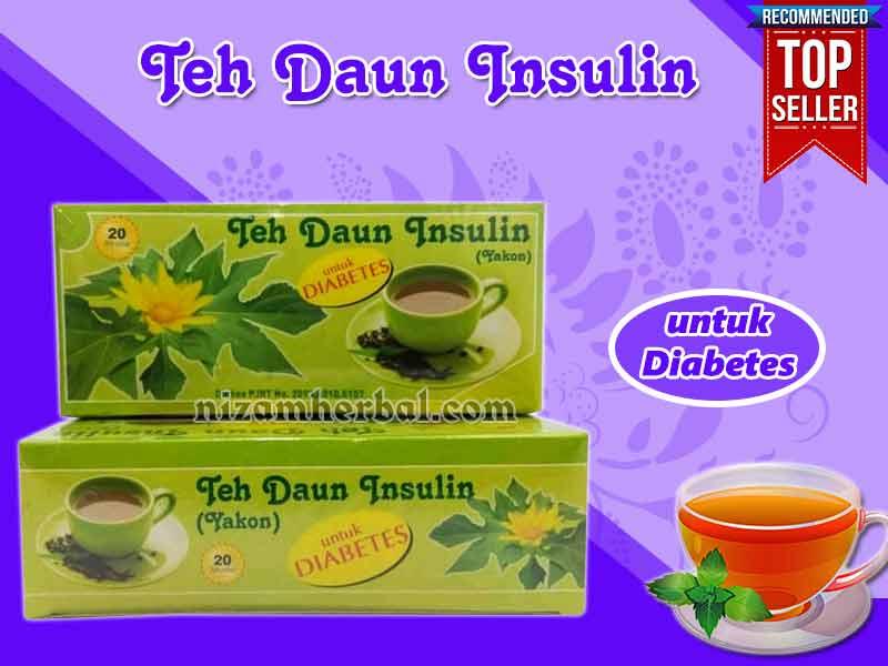 Jual Teh Daun Insulin Untuk Diabetes di Kwandang