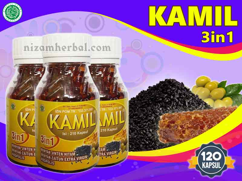 Jual Kapsul Kamil 3 in 1 di Denpasar