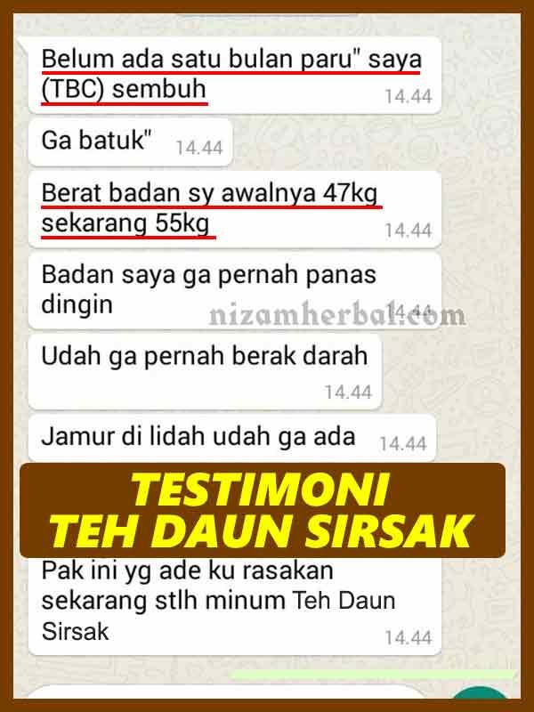 Review Teh Daun Sirsak Serta Testimoninya